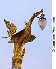 Bird luminaire The Grand Palace in Bangkok, Thailand