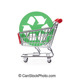 Socially responsible consumerism - buy recycled...