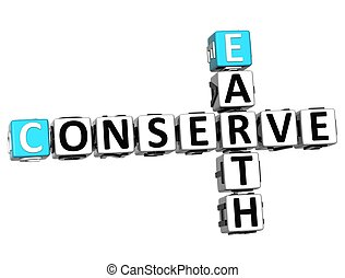 3D Earth Conserve Crossword - 3D Earth Conserve Crossword on...