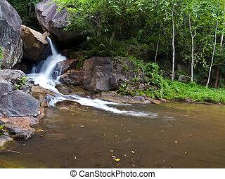 Huai Yang Waterfall - Level 2 of Huai Yang waterfall with a...