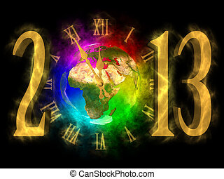 Happy new year 2013 - Europe