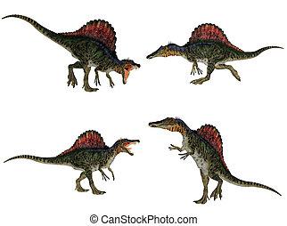 Spinosaurus, Paquete