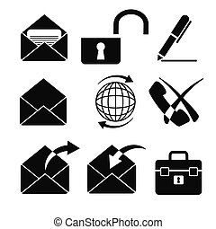 icons 6 - vector business icons set 6
