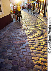 paris, france. montmartre - the artists' quarter of...
