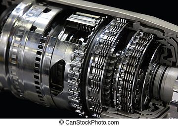 Automatic transmission - Cross section of automatic gearbox...
