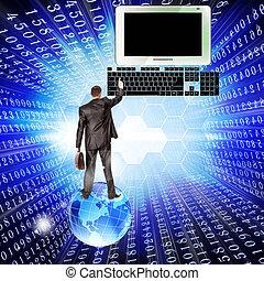 New computer Internet technology
