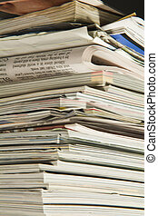 Magazines and newspapers