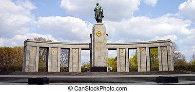 Russian War Memeorial in Berlin
