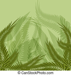 Jungle Forest Background - An image of a jungle forest...