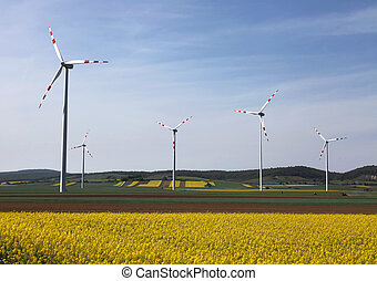 wind turbines in lower austria