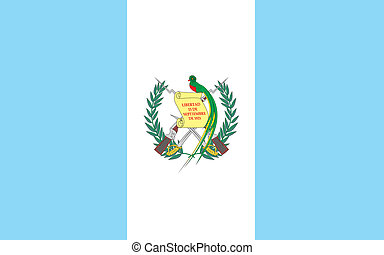 Guatemala flag - Various vector flags, state symbols,...
