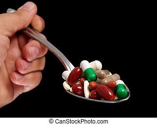 Overdosing spoon