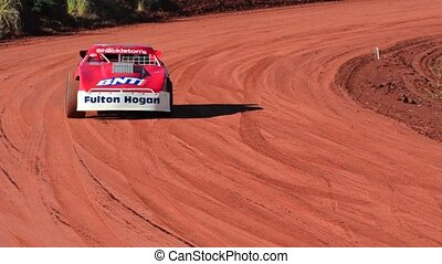 New Zealand Super Stock Car Race - TAIPA, NEW ZEALAND - JUNE...