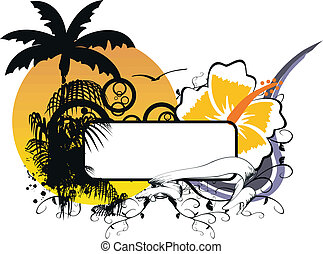 hawaiian sticker copyspace2