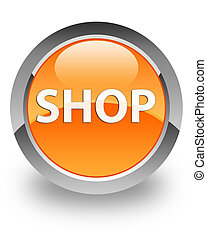 Shop glossy icon