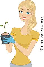 Seedling Girl