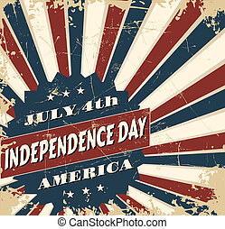Independence Day Card - Greeting card design for...