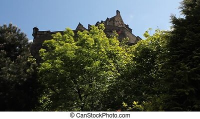 View of the Castle of Edinburgh
