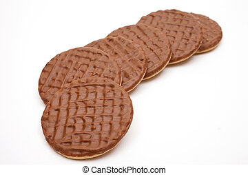 galletas,  chocolate