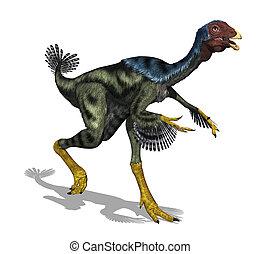 Caudipteryx Dinosaur - The Caudipteryx was a feathered,...