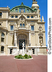 entry Monte-Carlo Casino and Opera House Monaco French...