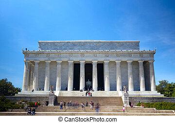 el, Lincoln, monumento conmemorativo