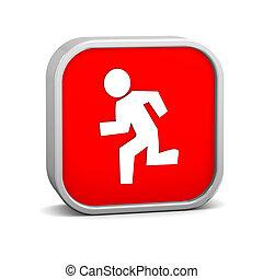 Running sign