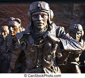 Battle of Britain Mounment in London