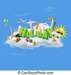 Holiday on Cloud