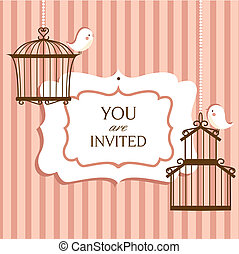 invitation card, illustratiuon