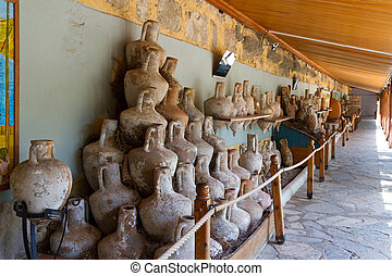 Amphoras from Bodrum Museum of Underwater Archaeology