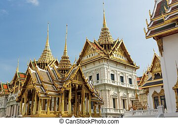 Bangkok royal palace at wat phra kaeo temple, Thailand