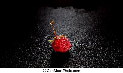 strawberry berry - Time-lapse strawberry berry inside of...