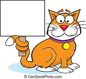 gato, sinal