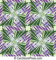 Square Pinwheel Pattern
