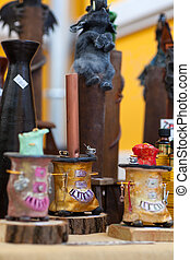 Incense - A lot of various scented Incense in a street...