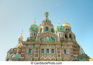 The Church of our Saviour on the Spilled Blood