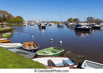 Christchurch Dorset England - Riverside at Christchurch...