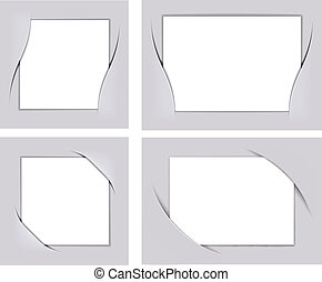 Photo frame corners set