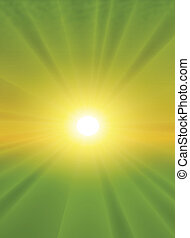 Sun light vector background - fully editable and can be...