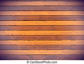 Colored wood panels