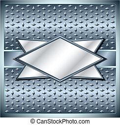 菱形, 金屬, 框架