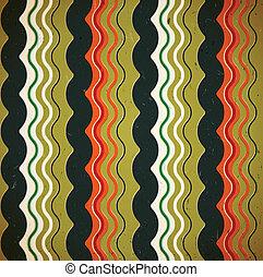 Wavy seamless pattern