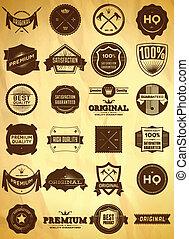 Vintage labels. Big collection 1 - Big set of vintage...