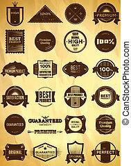 Vintage labels Big collection 3 - Big set of vintage Premium...