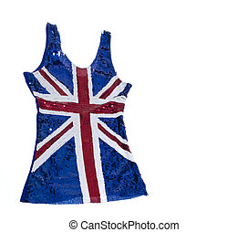 British flag union jack dress