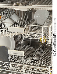 Interior dishwasher - Interior of a dishwasher