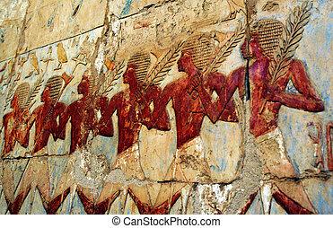 den, ivrig, tempel, Hatshepsut