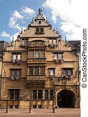 Maison des Tetes in Colmar - Maison des Tetes medieval house...