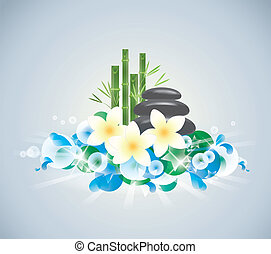beauty nature - abstract background of Beauty of the spa